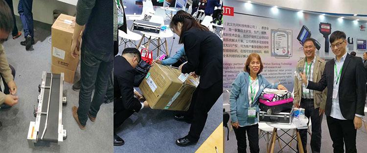 Sino-Pack China 2018 (Máquina de codificación de inyección de tinta) ¡La exposición terminó perfectamente!