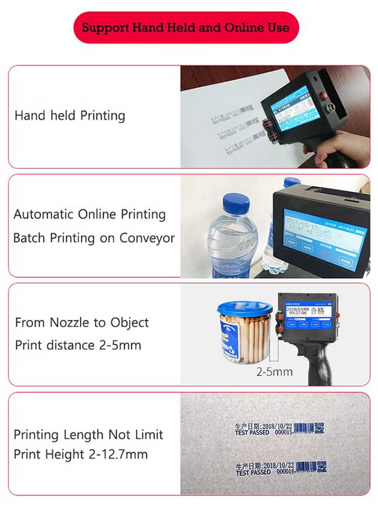Portable handheld Printer M3s