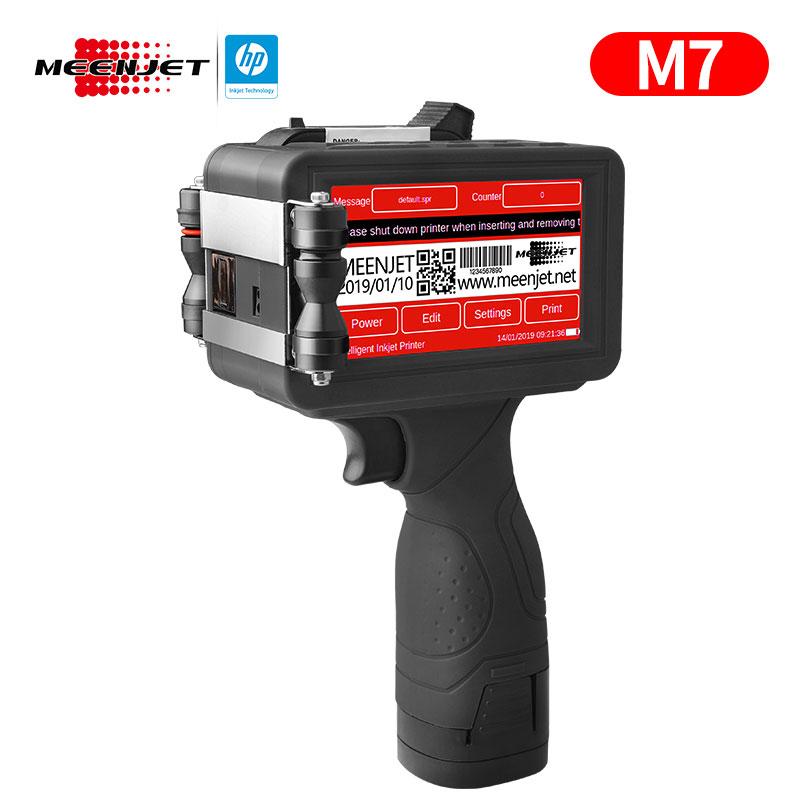 M7 Impresora de inyección de tinta manual