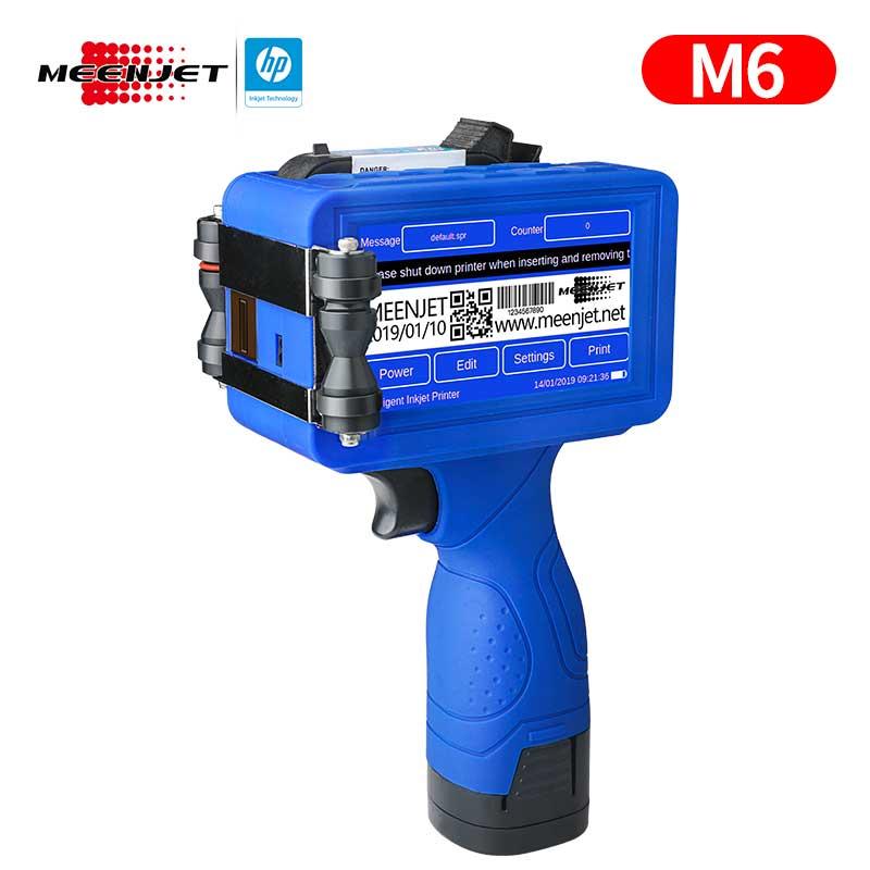 Codificador de inyección de tinta manual Meenjet M6