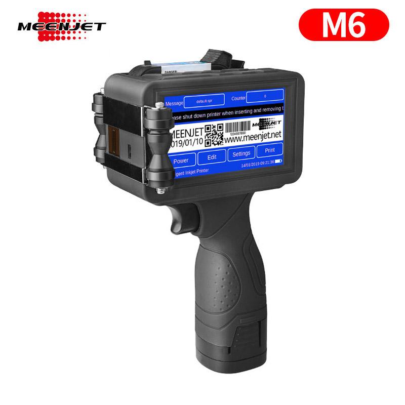 Impresora de mano con fecha de caducidad M6
